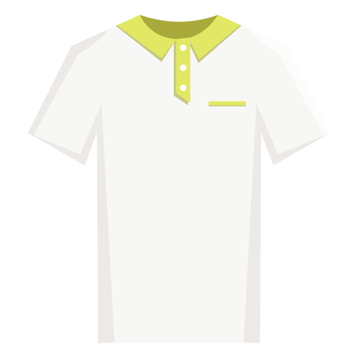 Tennis polo shirt icon Transparent PNG