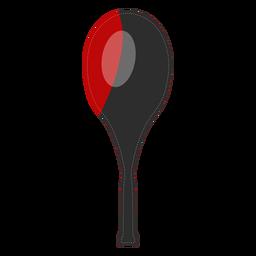 Icono de la cubierta de la raqueta de tenis