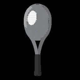 Elementos de tênis de ícone de raquete de tênis