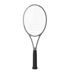 Tennis racket icon tennis elements