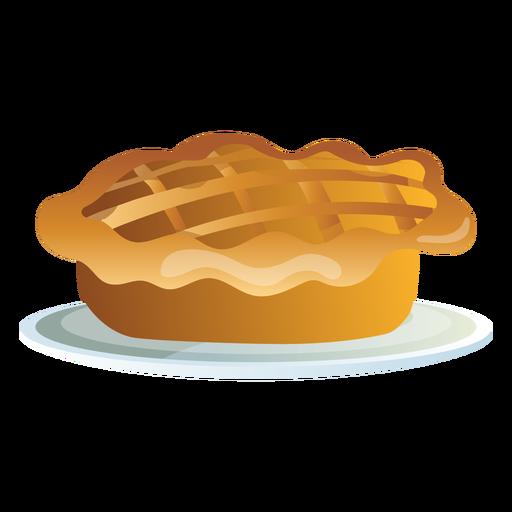 Thanksgiving pie illustration Transparent PNG