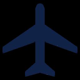 Thunderstreak Flugzeug Draufsicht Silhouette