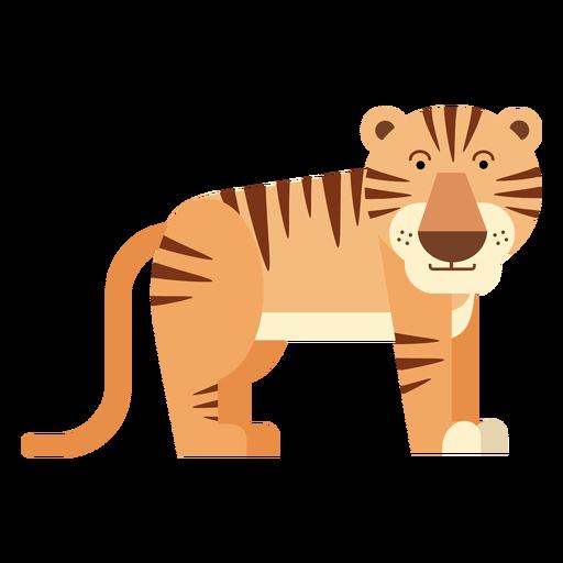 Tiger-Abbildung Transparent PNG