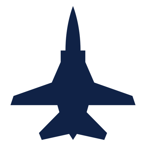 Tu 22m airplane top view silhouette Transparent PNG