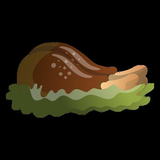 Ilustración de baquetas de pavo Transparent PNG