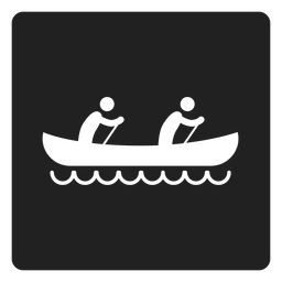 Caqui, quadrado, pessoa, dois, ícone