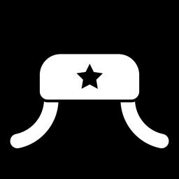 Icono de sombrero ushanka