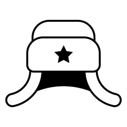 Ushanka hat icon