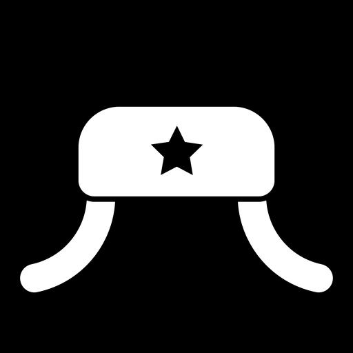 Ícone de chapéu Ushanka Transparent PNG