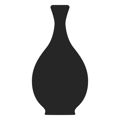 Icono plano florero Transparent PNG