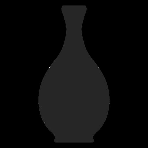 Icono plano florero
