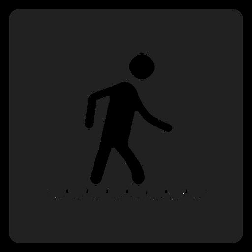 Fuß im Wasser Quadrat Symbol Transparent PNG