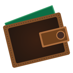 Brieftasche Symbol Reisen Symbole