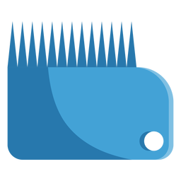 Wax comb icon