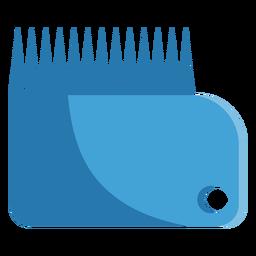 Wax comb icon