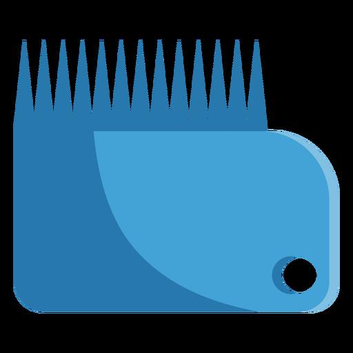 Ícone de pente de cera Transparent PNG