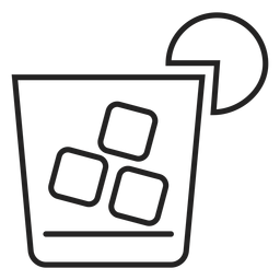 Icono de whisky sour cocktail