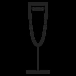 Weißweinglas-Symbol