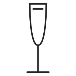 White wine glass icon