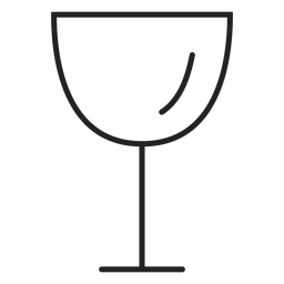 Weinglas Symbol Getränk Symbol