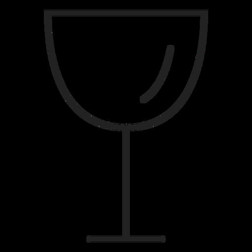 Ícone de bebida de ícone de copo de vinho Transparent PNG
