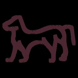 Símbolos tradicionales de animales egipcios