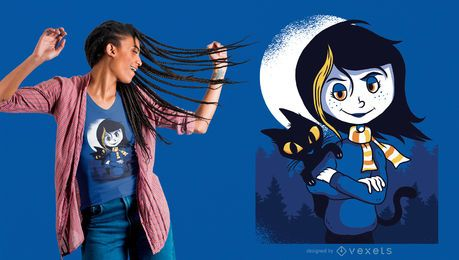 Coraline Illustration