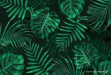 Dschungel-Hintergrunddesign