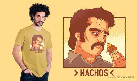 Projeto do t-shirt do senhor da droga dos Nachos