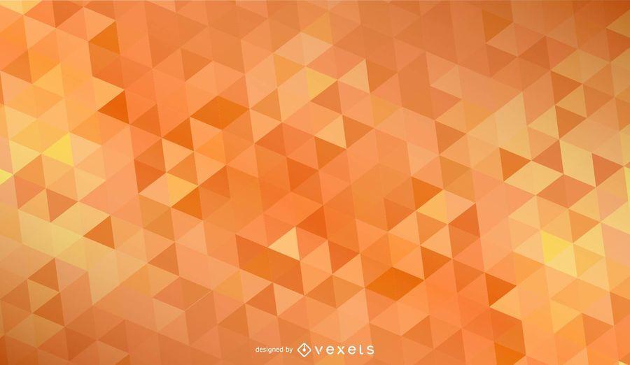 Orange Rhombus Background Design