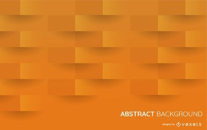 3D orange shapes background