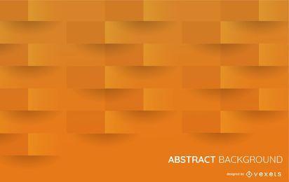 Fondo de formas de naranja 3D