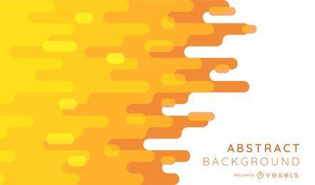 Diseño de fondo abstracto naranja tonos