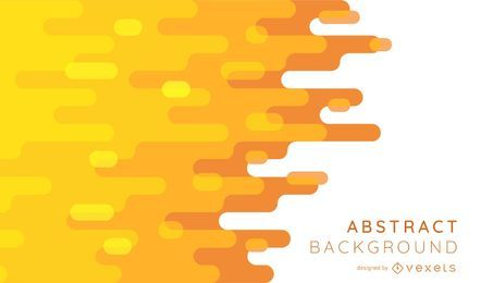 Orange Hues Abstract Background Design