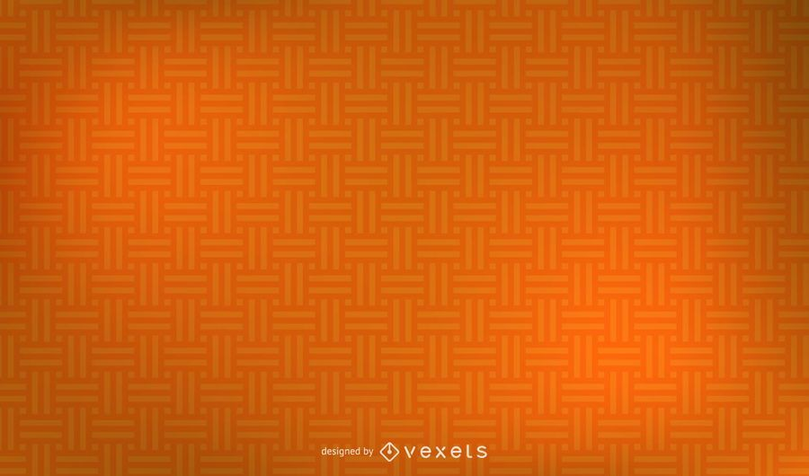 Orange Seamless Weave Pattern Background.