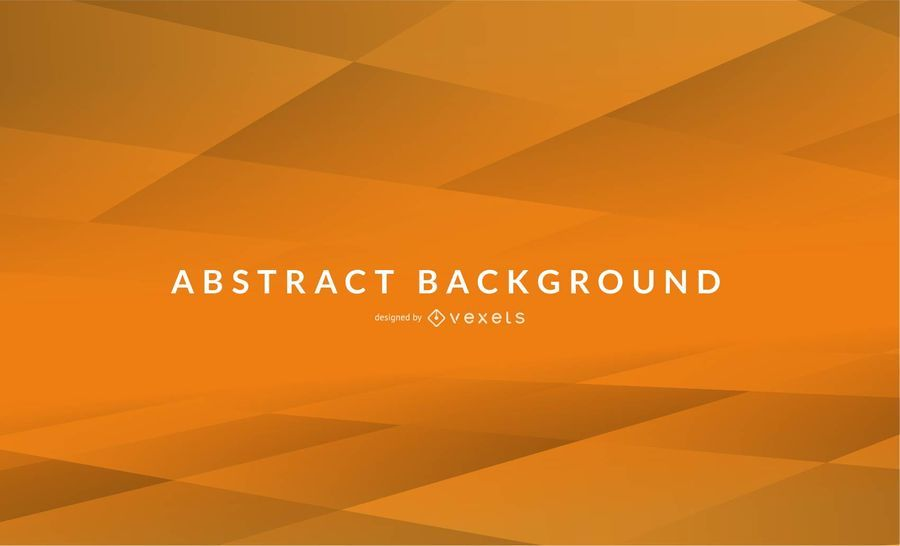 Orange Tile Abstract Background Design