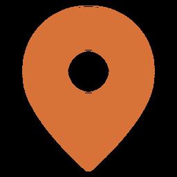 Símbolo de localização do banner