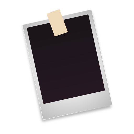 Blank polaroid photo icon Transparent PNG