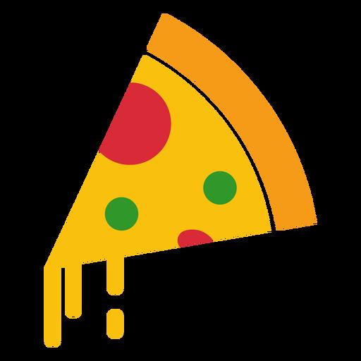 Ícone de pizza de queijo Transparent PNG