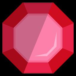 Icono de joyería de piedras preciosas