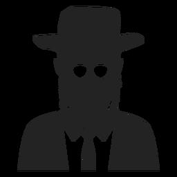 Icono de judío jasídico