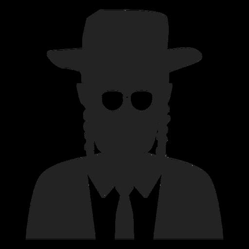 Ícone judeu hassídico Transparent PNG