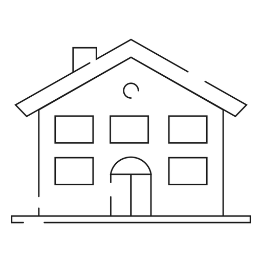 House thin line icon Transparent PNG