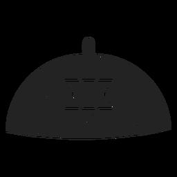 Jewish kippah icon