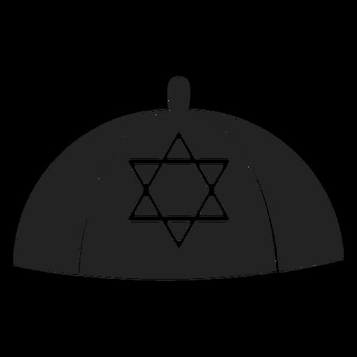 Ícone da kipá judaica Transparent PNG