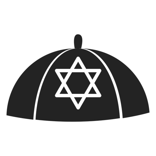Jewish kippah icon Transparent PNG