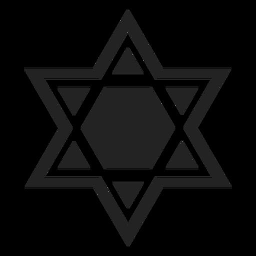 Icono de david magen Transparent PNG
