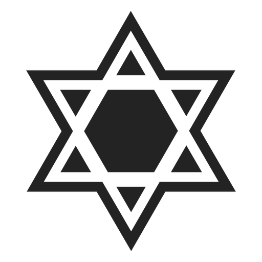 Magen david icon Transparent PNG
