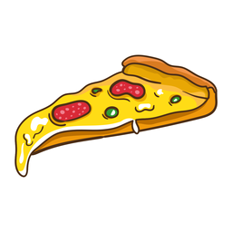 Etiqueta de pizza