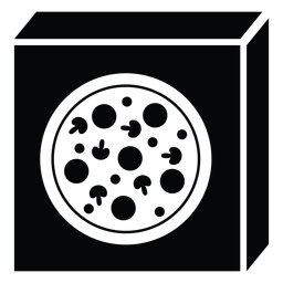 Ícone de caixa de pizza